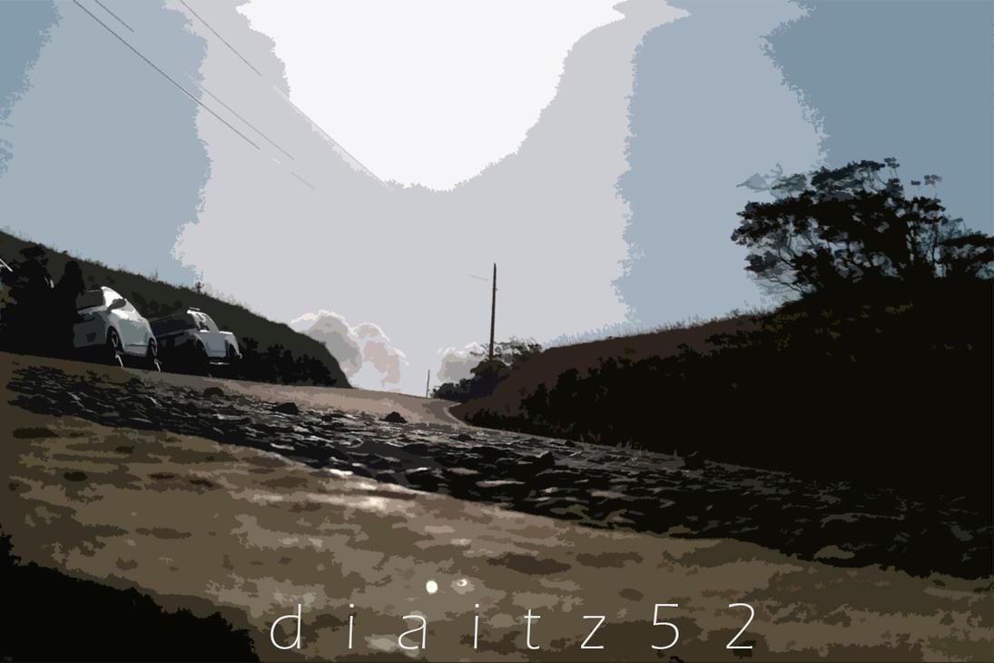 Way to the sun by diaitz52