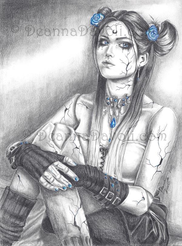Sapphire - Broken Doll Birthstone by deanna23