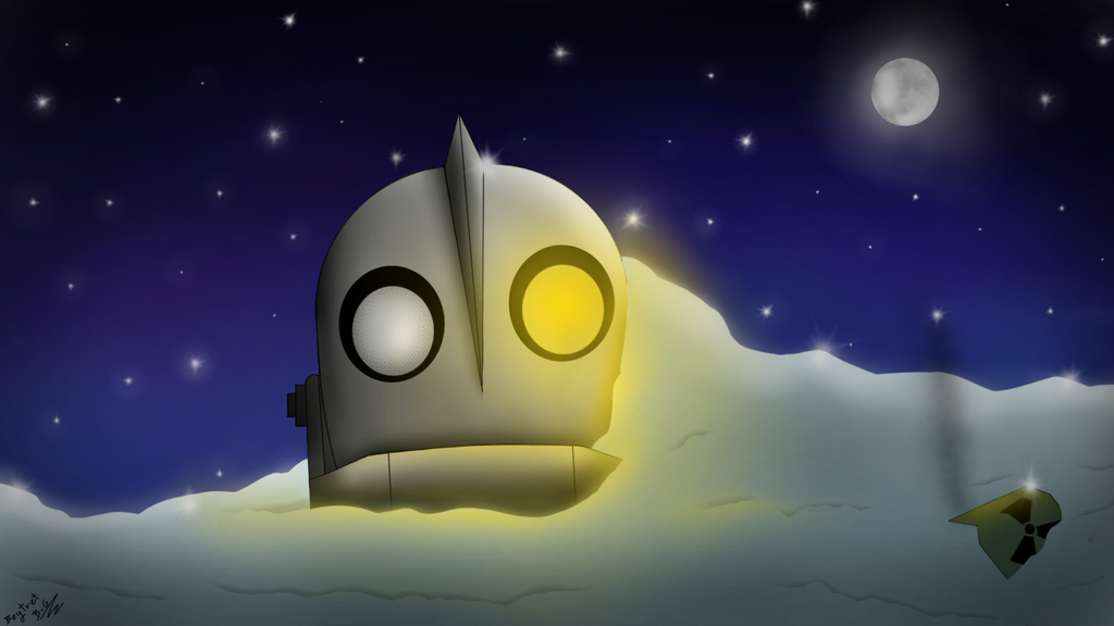 The Iron Giant - cartoons by beytret