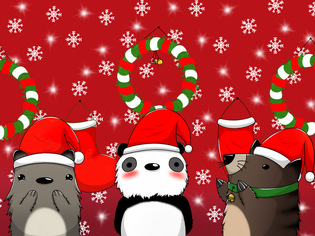 Christmas animal - special christmas by beytret