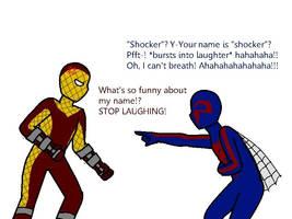 Shocker VS Spider-man 2099