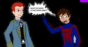 Ghost spider 2099: meeting Karn by hayley566