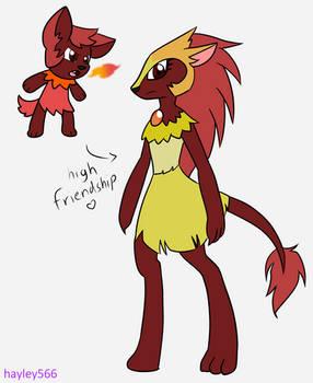 Fakemon: Chiwarm and Chaxolo