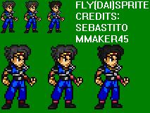 Fly (Dai) Sprite by sebastito
