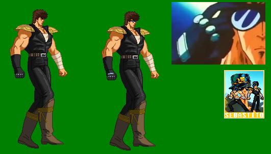 Kenshiro (ARCADE-PS2) Edit by sebastito