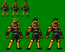 Ken-Oh (Anime) JUS Sprite Unfinished by sebastito