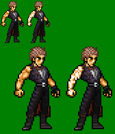 Gene (God Hand) Unfinished JUS Sprite by sebastito