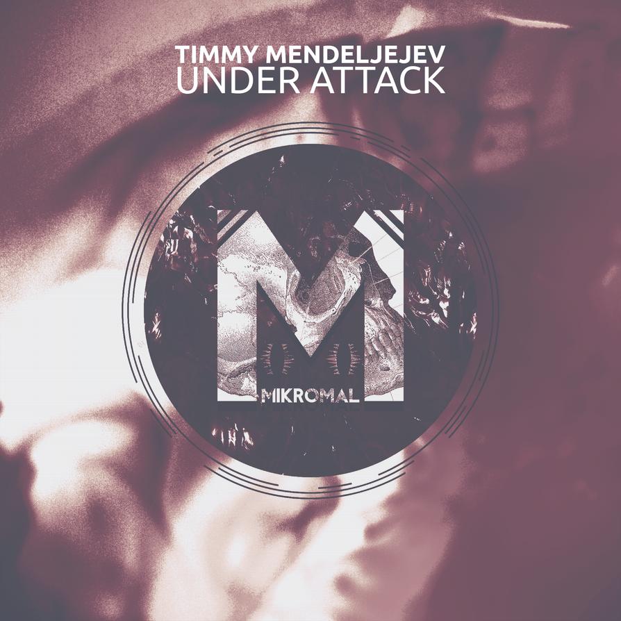 Mikromal Records Album Artwork Template by Domazetov