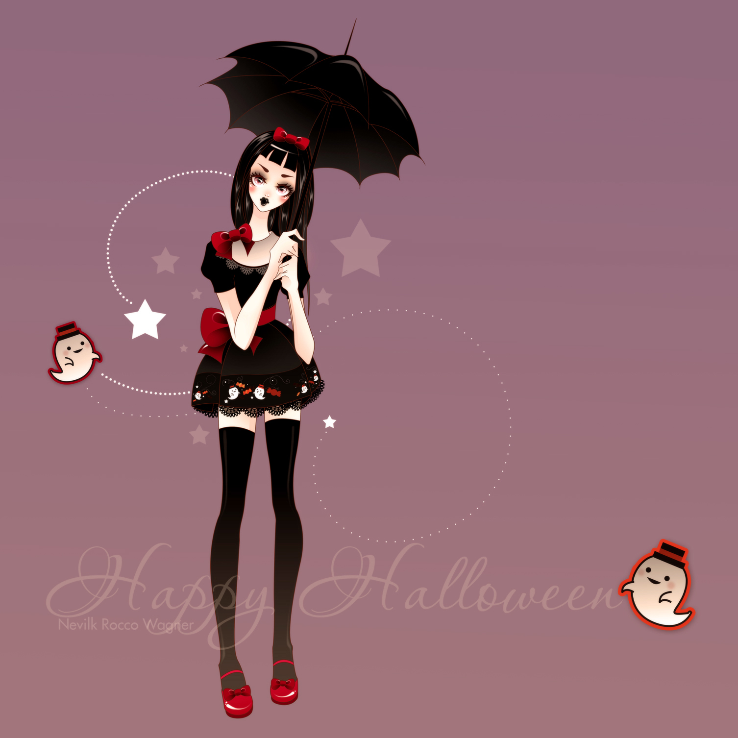 Happy Halloween GothicLolita by Nevilk