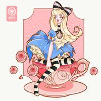 Alice in Wonderland by Nevilk