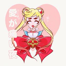 SailorMoon - La Noche cuando el amor duele