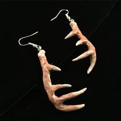 Deer Antler earrings