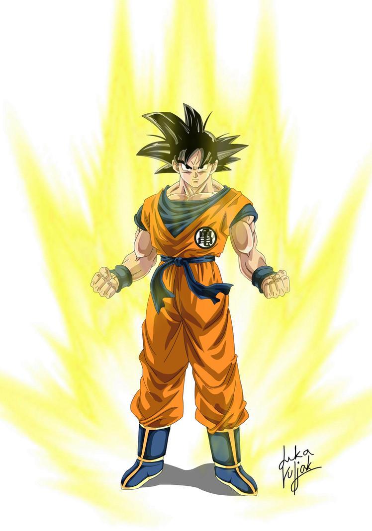 Goku Base Form by dokk1e on DeviantArt