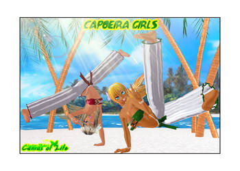 Capoeira Girls by AndreaGodoy