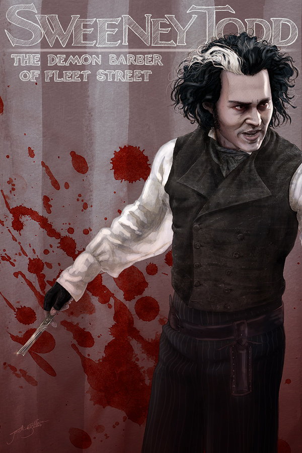 Sweeney Todd by jackieocean