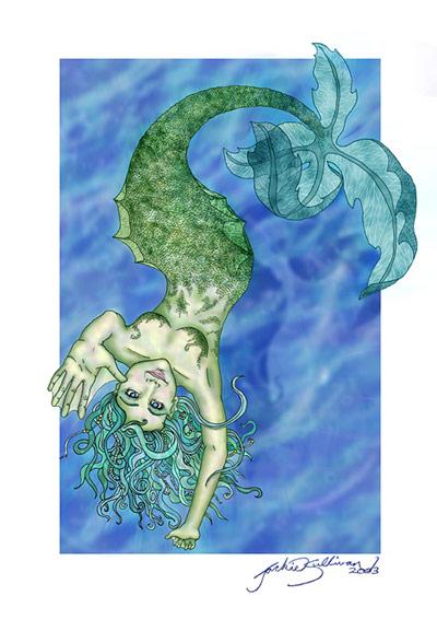 Mermaid by jackieocean