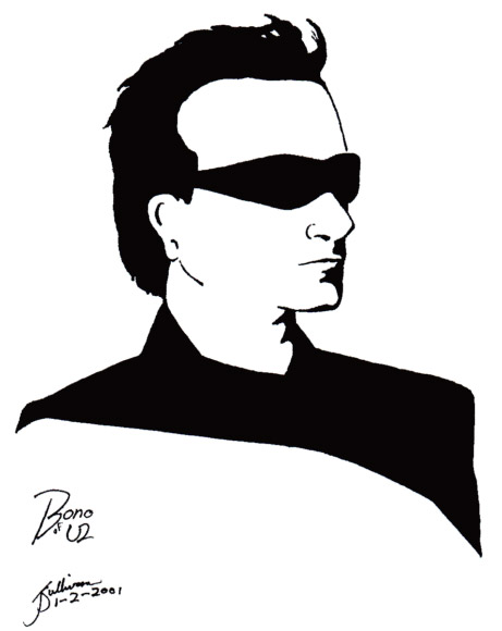 Bono by jackieocean