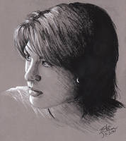 Portrait Study no.1 by jackieocean