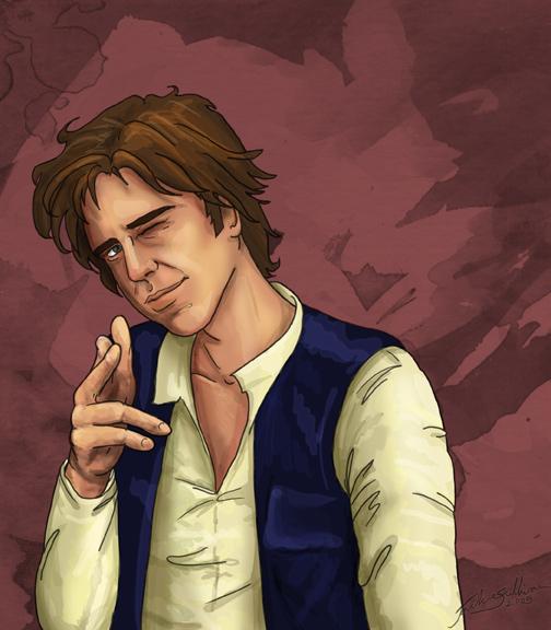 Han Solo by jackieocean