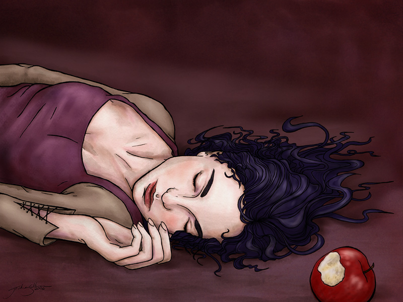 Snow White by jackieocean