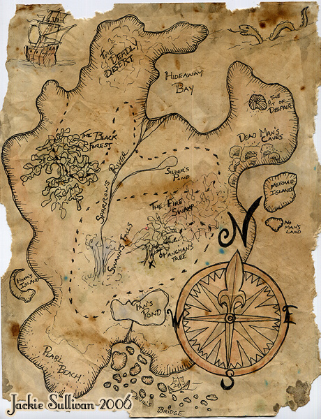 Treasure Map Project By Jackieocean On Deviantart