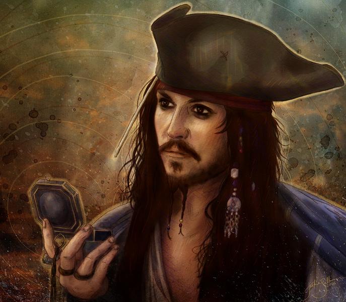Captain Jack Sparrow by jackieocean