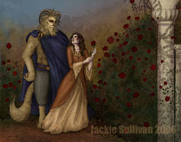 Beauty and the Beast - WIP 1 by jackieocean
