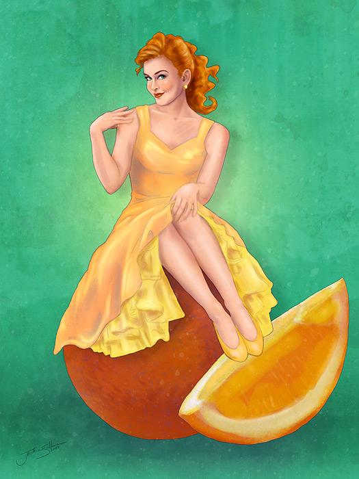 Retro Citrus by jackieocean