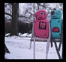 Robot Love by dinopowerGIRL