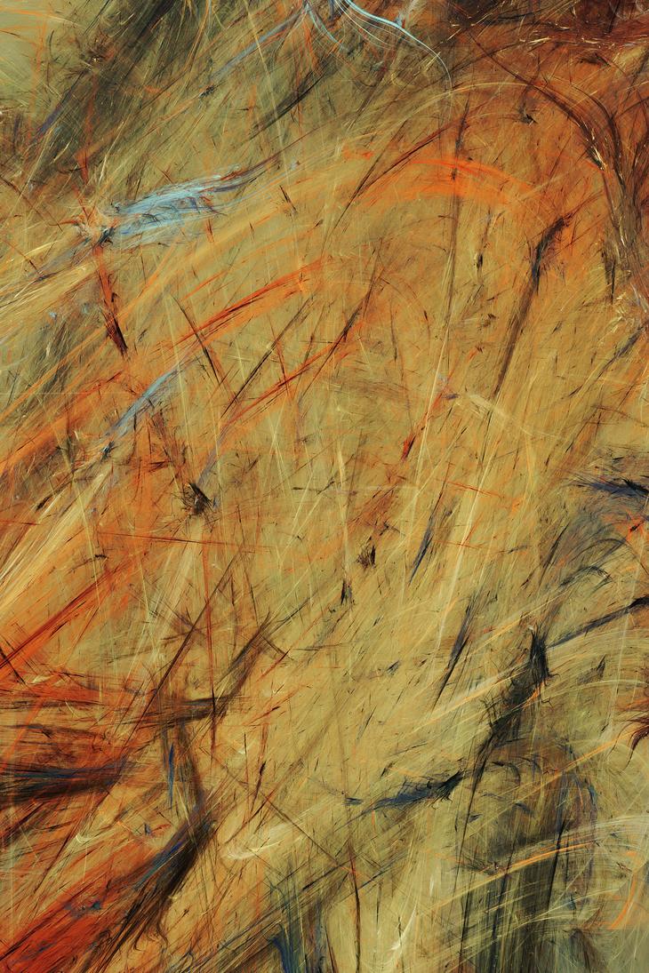 Hays Waving in Autumn Wind by PJKfractals