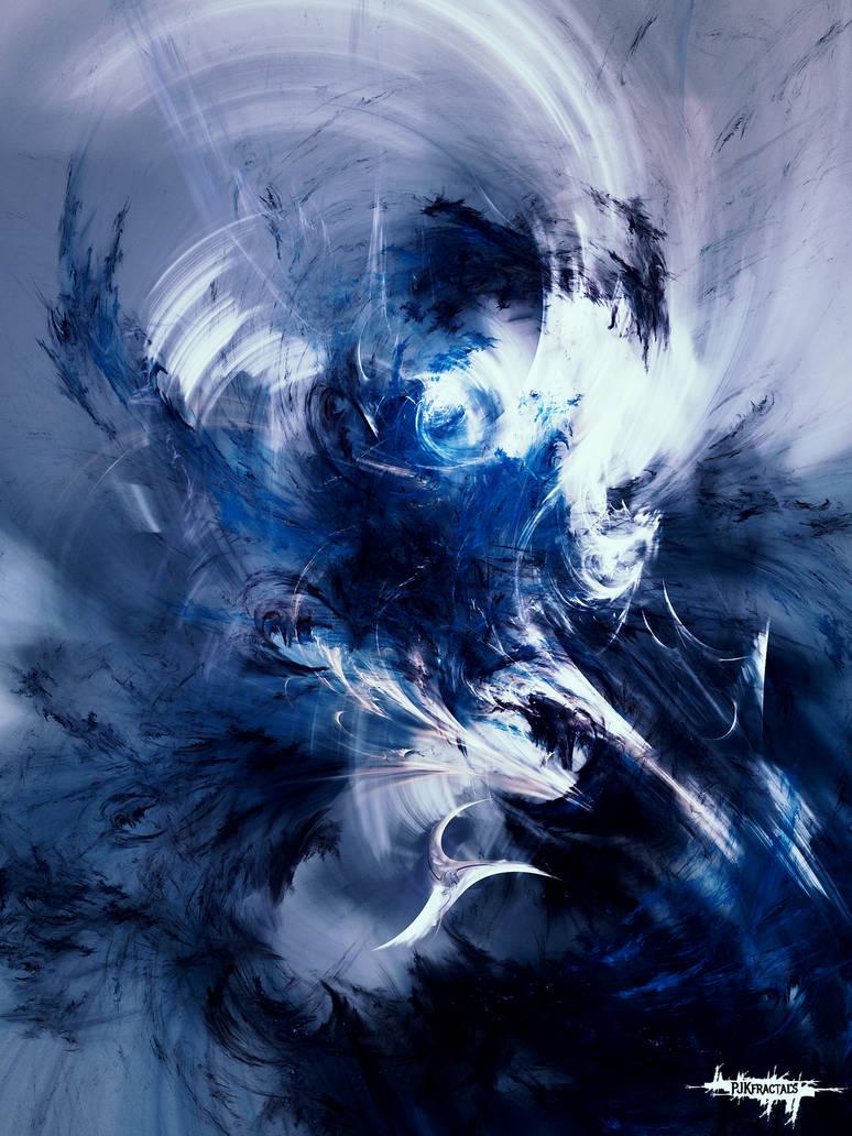 Blue Eagle by PJKfractals