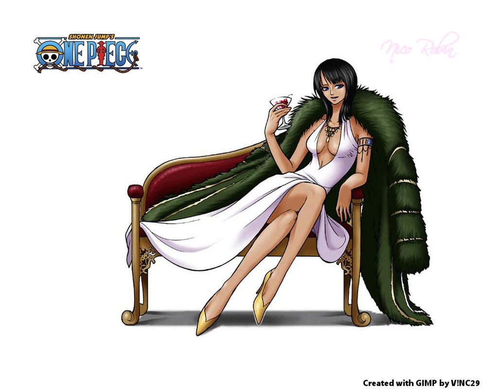 Nico Robin Wallpaper by ~vinc29 on deviantART