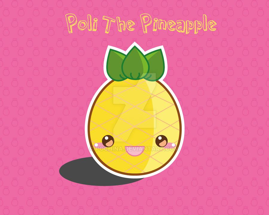 Poli The Pineapple by Pochina