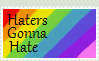 Haters Gonna Hate Stamp by MikuHatsune41996