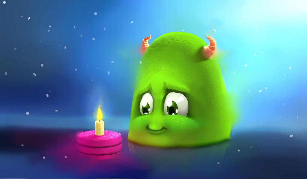 Monster birthday by Borodox