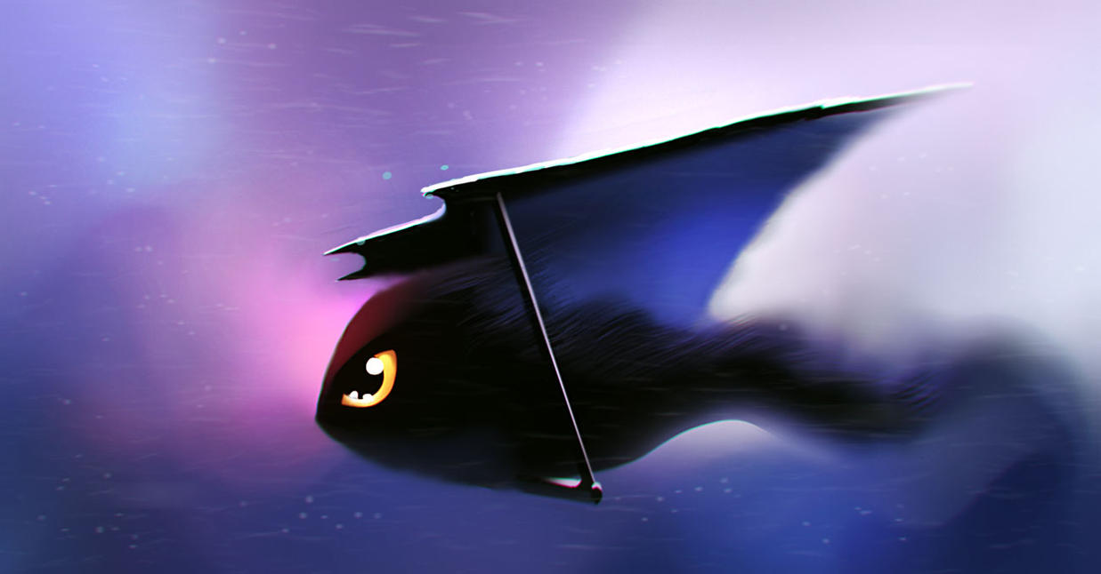 Bat glaider by Borodox