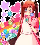 .:Sweet Candy:. by Nekochea