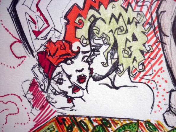 Cubist Inspiration by JHBU