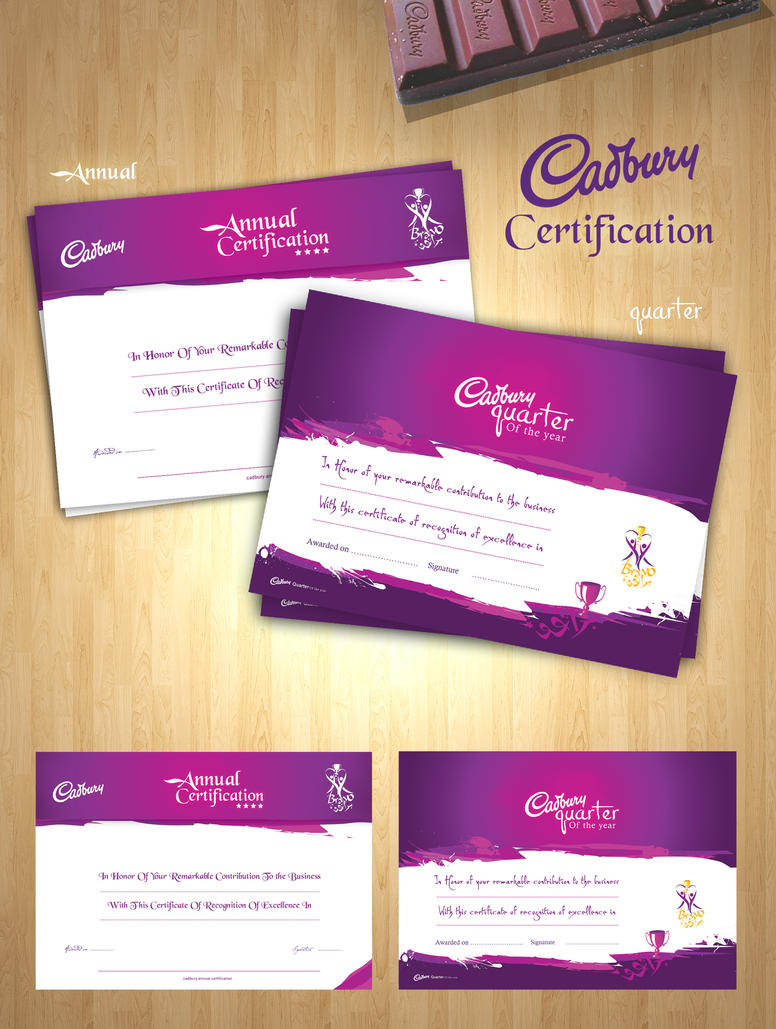 Cadbury certification by elkok on deviantart cadbury certification by elkok reheart Images