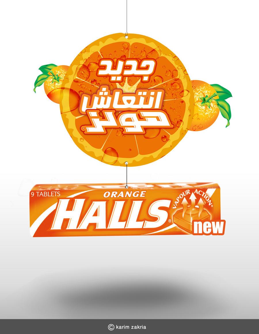 halls Orange by elkok