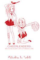 Cheerleaders by Aii-luv
