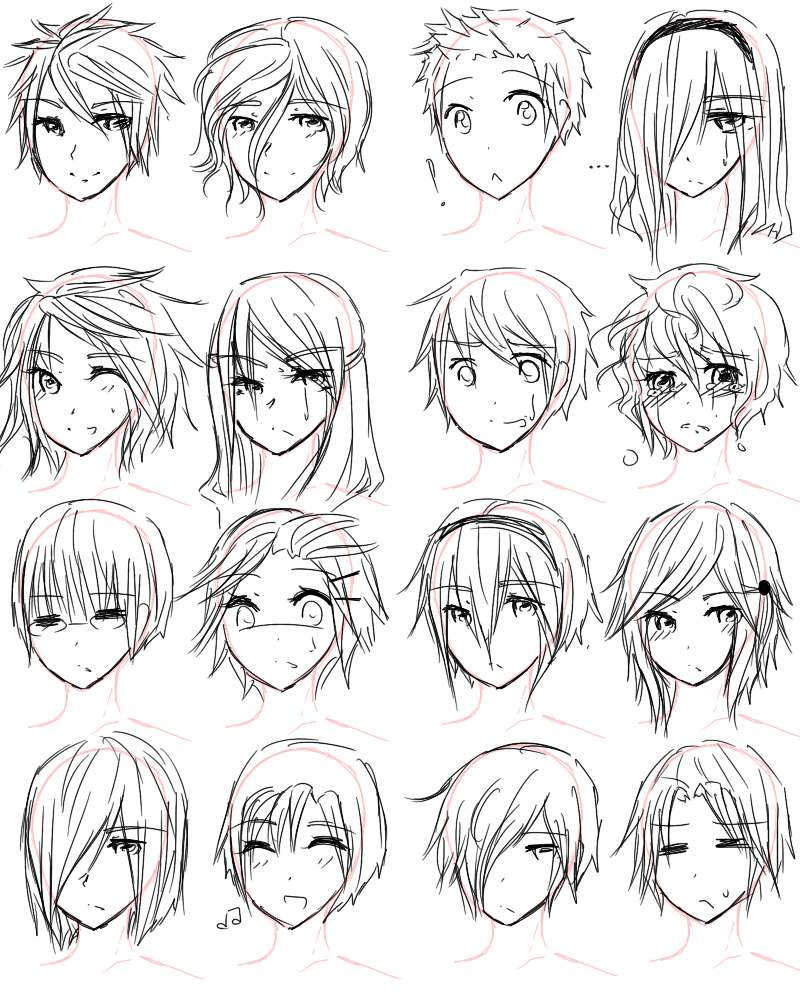 Guy Hairstyles by Aii-luv on DeviantArt