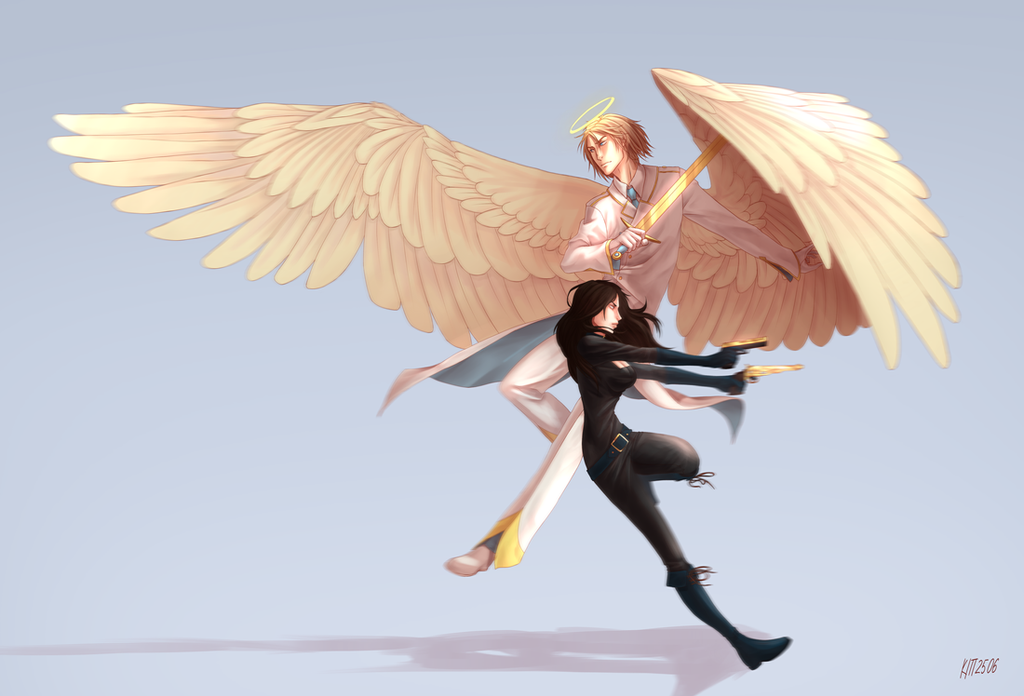 Request: Vlad and Kei by kitt2506