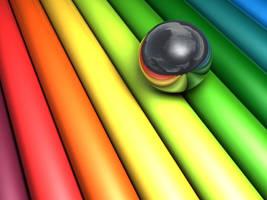 Rainbow by chickin
