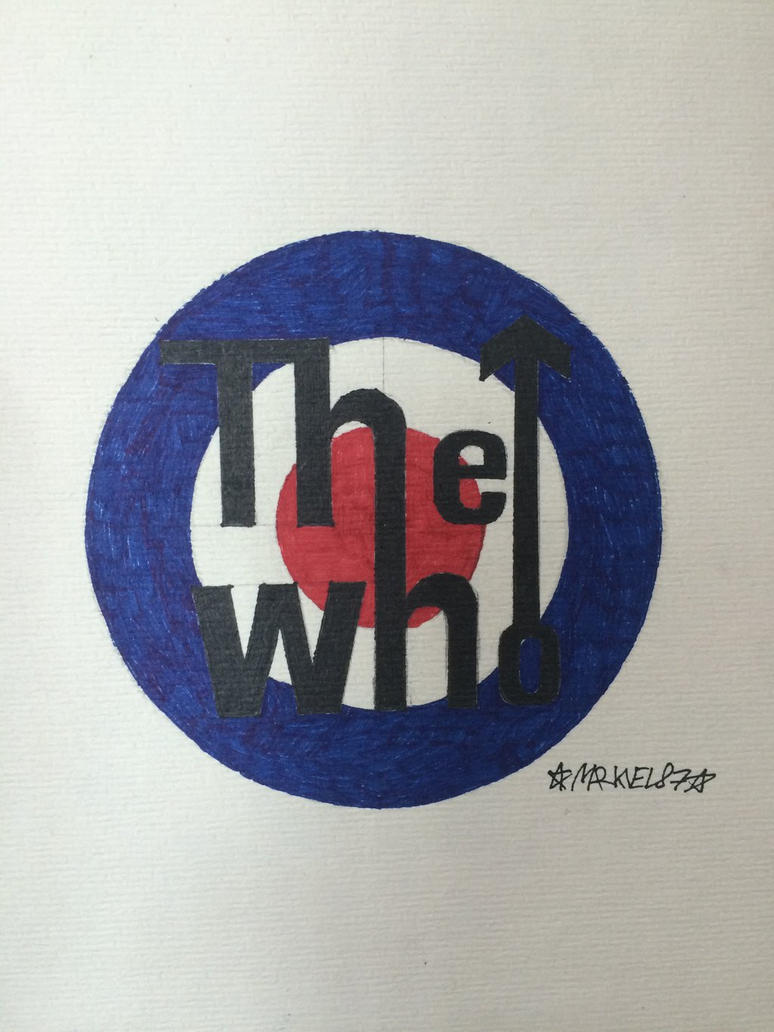 The Who logo.  by Markvel87