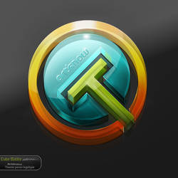 ArtKnow Glossy Logo by Xt3-Design-Factory