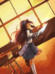 Asakura Ryoko by Booshnig