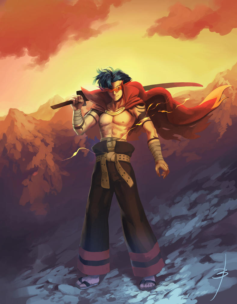 Kamina by Booshnig