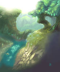 Mountain by Booshnig