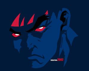 Evil Ryu Vectorized